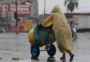 Hay que ir acostumbrándose a la temporada de lluvias. Foto: Fuad Landívar