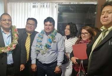 El equipo de abogados que atenderán los casos de Senkata (Foto: Brigada parlamentaria)