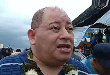 Romero tiene el respaldo de la Coordinadora de los Barrios. Foto: Opinión