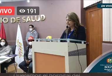 Silvia Gallegos es la nueva autoridad d la CNS.