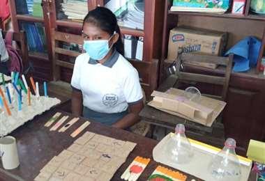 Unidad Educativa en Yapacaní