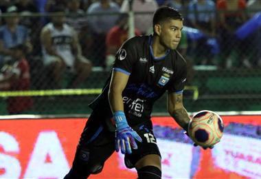Rubén Cordano se destacó en el partido. Foto: Ricardo Montero