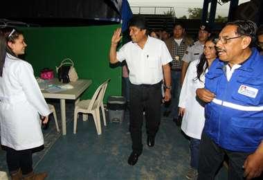 El expresidente Evo Morales está actualmente en Cuba. Foto de archivo