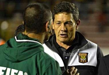 Mauricio Soria, entrenador de The Strongest, que este miércoles enfrentará a Atlético Tucumán, por la Copa Libertadores. Foto: Internet