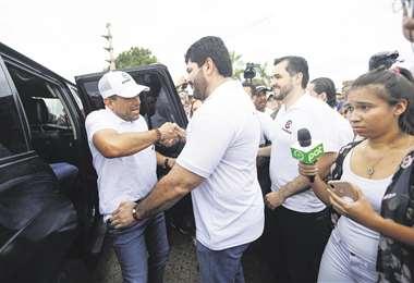 El alcalde de Cotoca, Wilfredo Áñez, informó de que no renunció a Demócratas y que más adelante lo hará, porque ahora apoya a Creemos