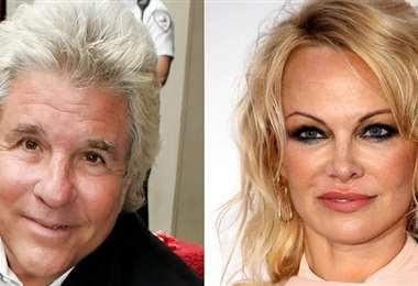 Jon Peters y Pamela Anderson