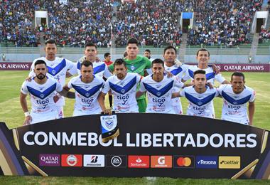 El club San José fue eliminado por Guaraní de la primera fase de la Libertadores. Foto. Archivo