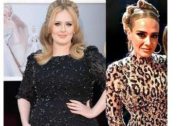 Cambio físico de Adele