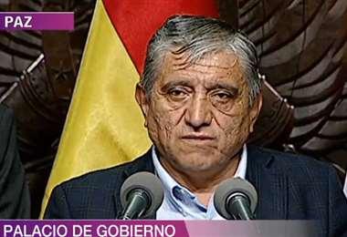 Iván Arias, ministro de Obras Públicas