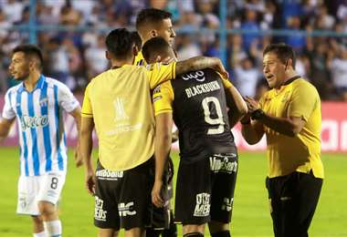 Blackburn es consolido por sus compañeros tras la eliminación del Tigre de la Libertadorse. Foto: Internet