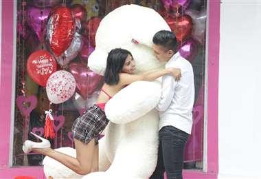 Hoy es el Día de San Valentín. Foto: Jorge Ibáñez