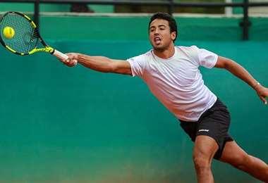Hugo Dellien se quedó este jueves con la ganas de jugar. Ahora su objetivo es el ATP 500 de Rio de Janeiro. Foto: Internet