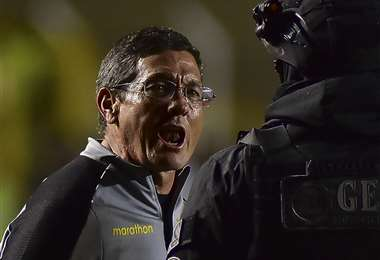 En esta última etapa, Mauricio Soria volvió a la conducción técnica de The Strongest en Agosto. Foto: APG Noticias