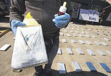 La Policía cuenta con un catálogo con más de 500 sellos que son utilizados por los narcotraficantes.