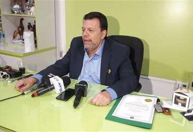 Joaquín Crapuzzi, titular de la Secretaría de Recaudaciones (SER)