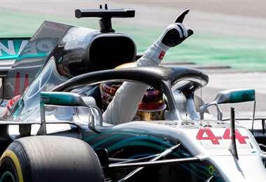El inglés Lewis Hamilton apunta este año a igualar el récord de Schumacher. Foto: Internet