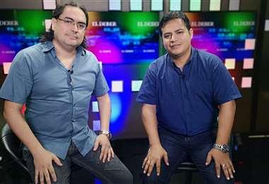 Marcelo Suárez y Luis Fernando Soria (Foto: Alejandra Arnez)