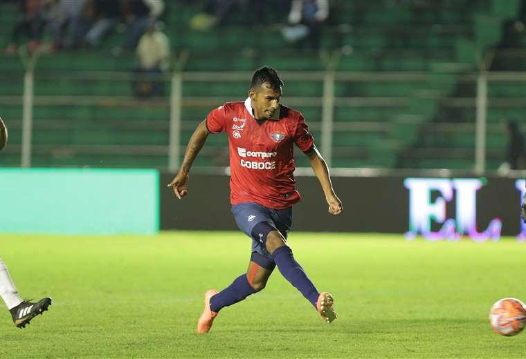 Gilbert Álvarez marcó 23 goles el año pasado en el equipo aviador. Este año solo marcó uno. Foto: Jorge Gutiérrez
