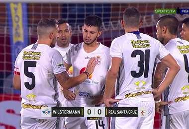 Real Santa Cruz empató ante Wilstermann en el Capriles