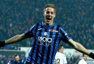 Mario Pasalic marcó el gol del triunfo para el Atalanta. Foto. Internet