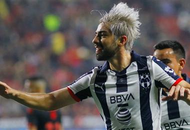 Rodolfo Pizarro ingresó en la historia del Inter Miami. Foto. Internet