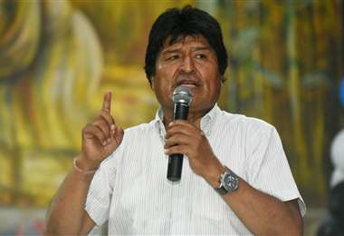 Morales aún está en Cuba, donde viajó para recibir atención médica. Foto: ABI