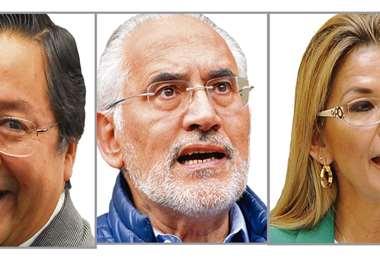 En total son ocho los candidatos que buscan la Presidencia del país.