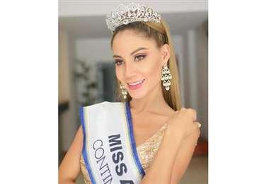 Reachel Alison Tórrez, miss América Continental 2020(Foto: Facebook/Miss Cochabamba)