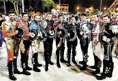 Ellos. El fotógrafo Sergio Chuquimia guiará a una fila de modelos varones . Foto: Sergio Chuquimia