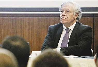 El secretario general de la OEA busca ser reelegido en el cargo. Foto: AFP