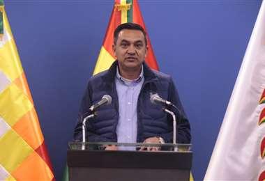 El ministro de la Presidencia, Yerko Núñez | Foto: Ministerio de la Presidencia