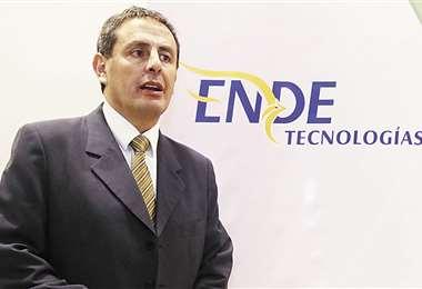 El software ruso, adquirido por ENDE Tecnologías en 2019, tuvo un uso político, informó Gustavo Koch. Foto: Jorge Gutiérrez