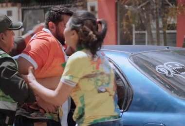Captura de pantalla del video