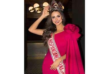 Regina Peredo, reina Hispanoamericana 2019-2020