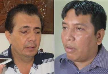 Ambos concejales el sillón municipal