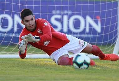 Rubén Cordano fue titular en la academia en la temporada pasada. Foto: Fuad Landívar
