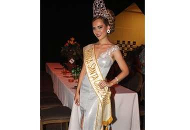 Susy Ascarrunz, reina de Santa Cruz 2019