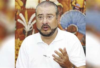 Rómulo Calvo, presidente cívico