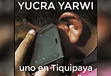 Evo habló con Faustino Yucra
