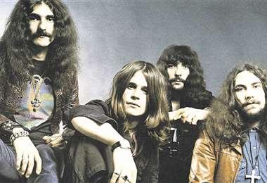 Geezer Butler, Ozzy Osbourne, Tony Iommi y Bill Ward. Black Sabath, la mayor banda de heavy metal de la historia.