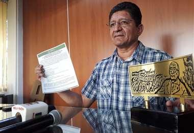 Hugo Salmón, presidente de la Asamblea Legislativa Departamental