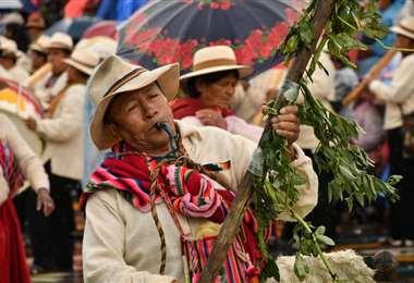 Así se vivió el Anata Andino en Oruro | Foto: Emilio Castillo