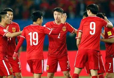La selección de China jugará dos partidos fuera de su territorio en las eliminatorias para Catar-2022. Foto. Internet