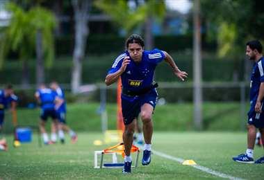Martins intensifica su preparación en el Cruzeiro de cara a su debut en el Mineirao. Foto: Globoesport