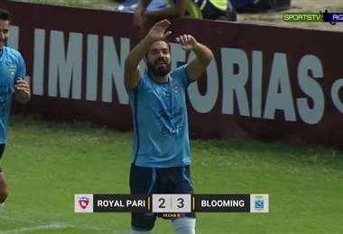 Reviví los goles con los que Blooming venció a Royal Pari en el Tahuichi