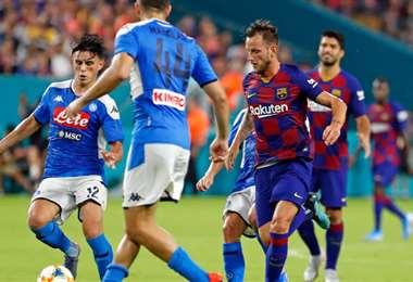 El duelo entre el Nápoles y el Barcelona será uno de los partidos estelares de los octavos de final. Foto. Internet