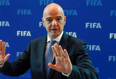 Gianni Infantino, presidente de la FIFA. Foto. Internet