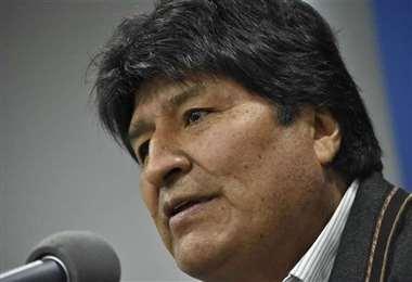 Evo Morales hace casi tres meses salió del país