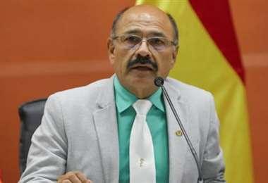 El ministro de Salud, Anibal Cruz | Foto: Archivo EL DEBER