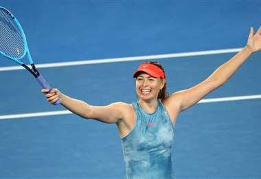 Sharapova, de 32 años, anunció este miércoles alejarse del tenis después de 28 dedicados a esta actividad. Foto: Internetprofesional.